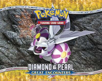 Pokemon TCG Diamond and Pearl Great Encounters - Reverse Holo Uncommon Cards