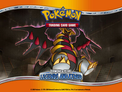 Pokemon TCG Diamond and Pearl Legends Awakened - Reverse Holo Uncommon Cards