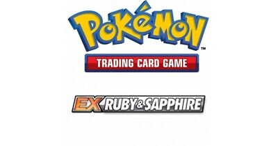 Pokemon TCG EX Ruby and Sapphire - Uncommon Cards