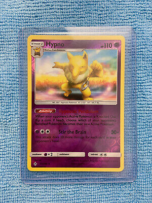 Hypno 72/214 Pokemon Card (Unbroken Bonds) Reverse Holo Rare NM/M