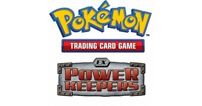 Pokemon TCG EX Power Keepers - Reverse Holo Common Cards