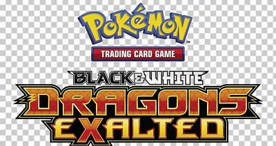 Pokemon TCG Black & White Dragons Exalted - Reverse Holo Common Cards