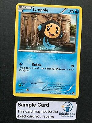 Tympole 34/124 Common   BW: Dragons Exalted   Pokemon Card