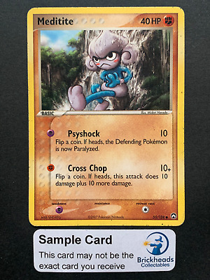 Meditite 55/108 Common | Ex Power Keepers | Pokemon Card