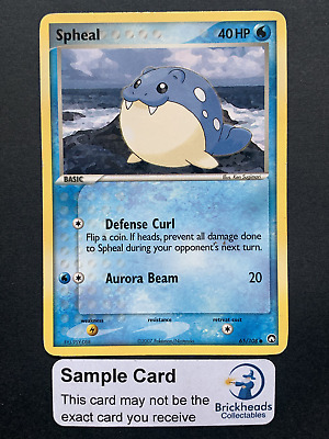 Spheal 65/108 Common | Ex Power Keepers | Pokemon Card