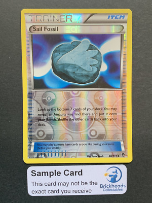 Sail Fossil 98/111 Reverse Holo Trainer | XY: Furious Fists | Pokemon Card
