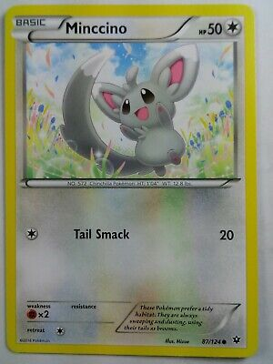 Minccino  87/124  X&Y: Fates Collide   Common  NM/Mint  Pokemon