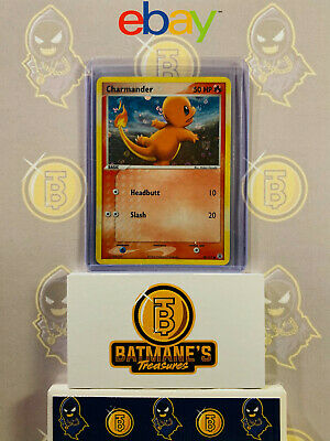Charmander 58/112 LP Played FireRed & LeafGreen Holofoil Holo Pokemon Card
