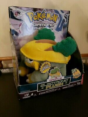 GROTLE Plush Pokemon Electronic Talking Diamond and Pearl 10