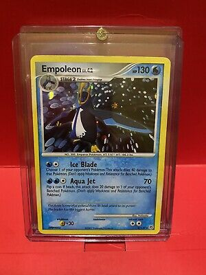Pokemon Empoleon 4/130 Diamond and Pearl Holo Rare Moderately Played Condition