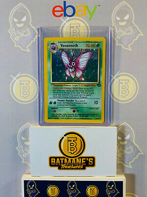 Venomoth 13/64 LP/NM Near Mint Jungle Set 1999 Holofoil Rare Holo Pokemon Card