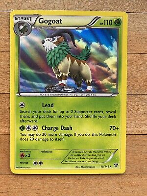 Gogoat XY Rare Holo Pokemon Card 19/146