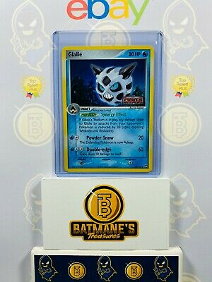 Glalie 30/108 NM Mint EX Power Keepers Stamp Holofoil Holo Pokemon Card