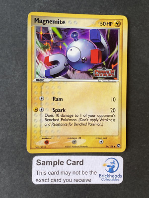 Magnemite 54/108 Holo Common | Ex Power Keepers | Pokemon Card