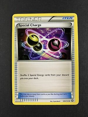 Pokemon Steam Siege - Uncommon - Special Charge 105/114 - Trainer Item NM