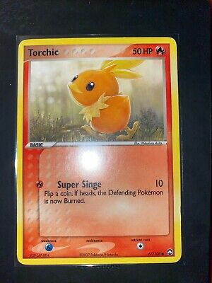 TORCHIC - 67/108 - EX Power Keepers - Common - Pokemon Card - LP
