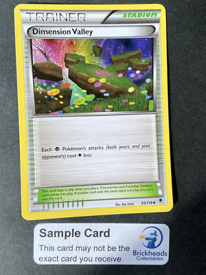 Dimension Valley 93/119 Trainer   XY: Phantom Forces   Pokemon Card