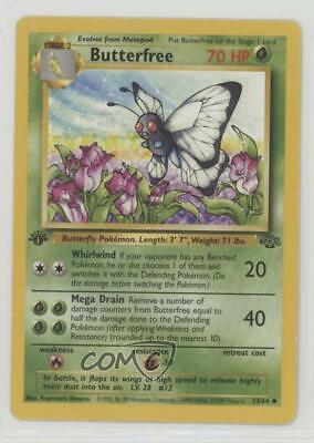 1999 Pokemon Jungle 1st Edition Butterfree (d edition) #33.2 02ll