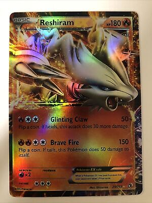 Reshiram EX 29/113 Legendary Treasures Pokemon Card ~ Near Mint