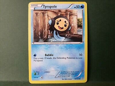 Pokemon Dragons Exalted Tympole Single Card Common