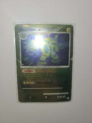 Electivire LV.46 Diamond & Pearl 3/130 PL/EX Rev Holo and Rare pokemon TCG card