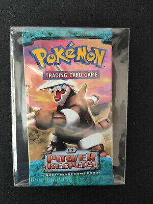 Pokemon ex Power Keepers Sealed Booster Pack Aggron Artwork