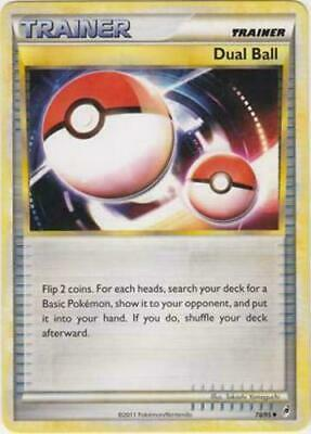 Pokemon Trainer Dual Ball 78/95 Uncommon Nm Card   Call Of Legends