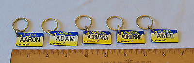 Брелок PERSONALIZED ALASKA GIFT TAG/KEY RING