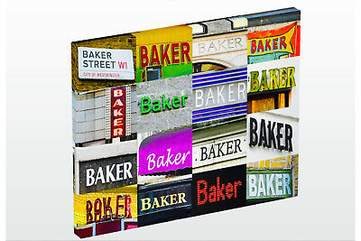 Разное Personalized Photo Canvas featuring BAKER