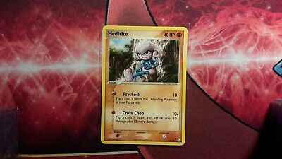 Meditite EX Power Keepers Pokemon Card LP