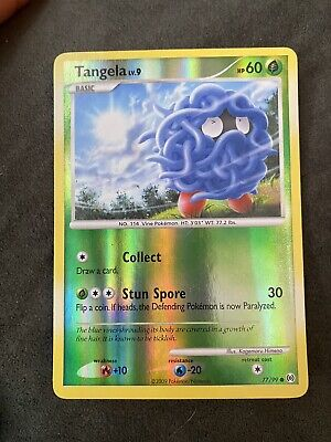 Pokemon Cards TANGELA 77/99 PLATINUM ARCEUS SET REVERSE HOLO COMMON (E)