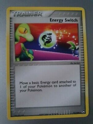 Energy Switch Holo Pokemon Card Power Keepers 75/108 (Very Good Condition)