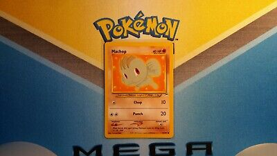 Machop Neo Destiny Pokemon Card LP