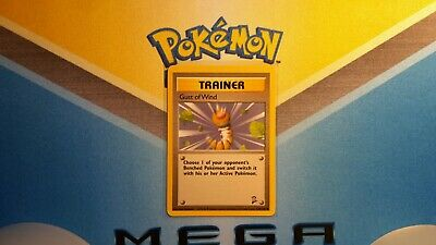 Gust of Wind Trainer Base Set 2 Pokemon Card LP