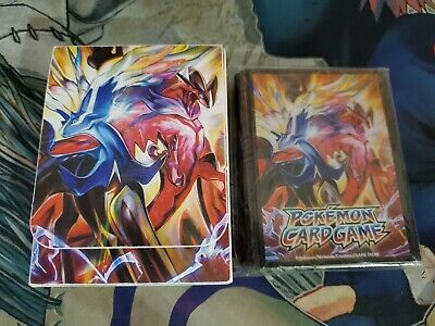 Pokemon Card XY Official Sleeve (62) Deck Case Set Xerneas-EX & Yveltal-EX