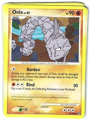 Pokemon Diamond and Pearl Stormfront, Onix 69/100  common Mint