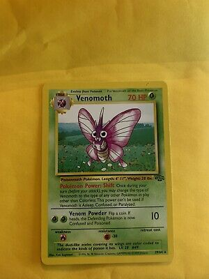 Pokemon Card - Venomoth (29/64) - Jungle Set