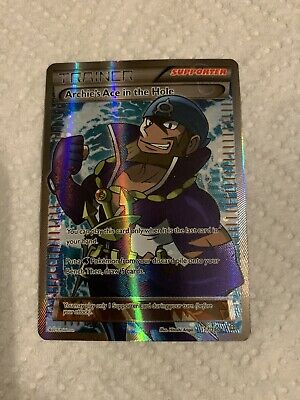 Archie's Ace In The Hole Full Art - Primal Clash Pokemon TCG Card #157/160