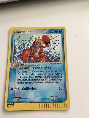 2003 CRAWDAUNT 3/97 Rare Holo POKEMON CARD from Ex Dragon Set - NEW MINT - LOOK