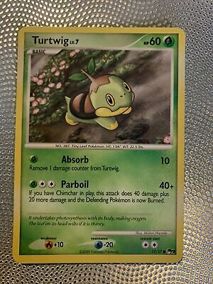 Pokemon Card: Turtwig 17/17 Pop Series 9 Promo!