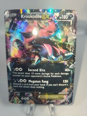 Pokemon Krookodile EX XY25 Black Star Promo