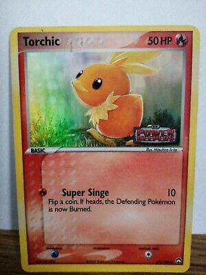 Pokemon Card Torchic 67/108 Ex Power Keepers Promo Holo Rare