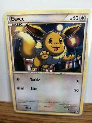 Pokemon Card Eevee 56/95 Call Of Legends