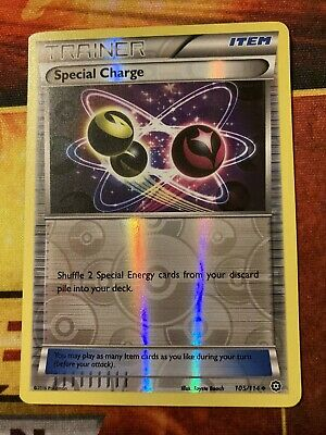 Pokemon SPECIAL CHARGE 105/114 - XY Steam Siege - Reverse Holo - NM