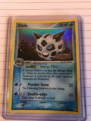 Glalie Pokemon Card EX Power Keepers REVERSE Holo 30/108