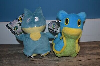 Pokemon Diamond And Pearl Series 3 Plush Munchlax And Shellos East Sea With Tags