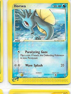 HORSEA - 58/97 – Pokemon – Ex Dragon - NM = Buy more cards and save!