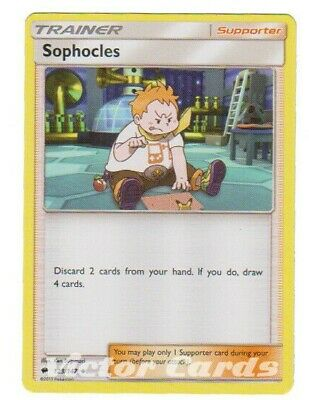 Pokemon Sophocles - 123/147 - X4 - Burning Shadows - NM