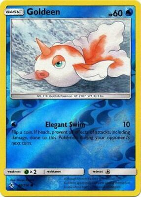 1x - Goldeen - 48/214 - Common - Reverse Holo NM Pokemon Unbroken Bonds