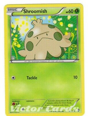 Pokemon Shroomish - 6/111 - X4 - Furious Fists - NM